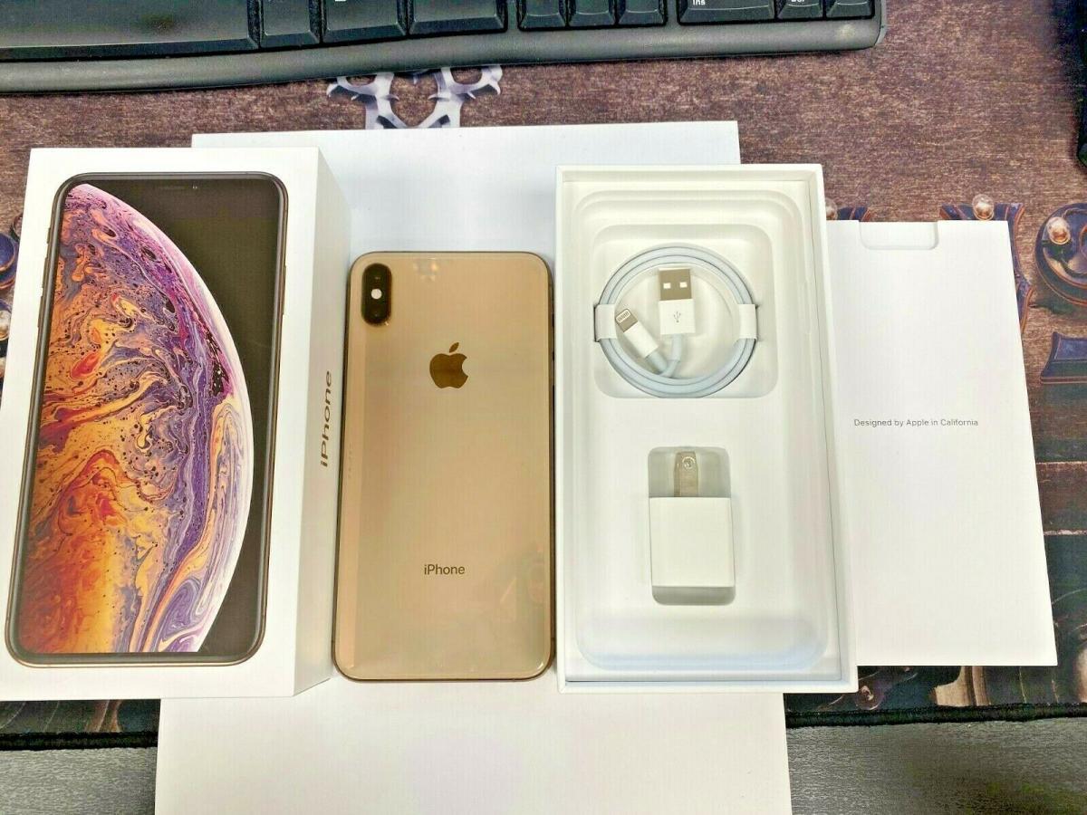 Apple iPhone XS Max EXCELLENT COND 256 GB zlato (1/4)