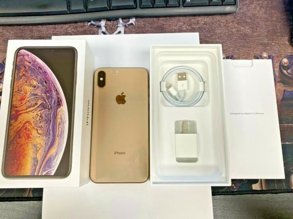 Apple iPhone XS Max EXCELLENT COND 256 GB zlato